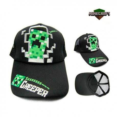 Gorra Minecraft Creeper Ssssssss  20309be60b3