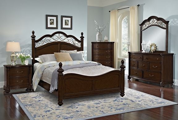 Derbyshire Bedroom Collection  Furniturequeen Bed $39999 Amusing Fancy Bedroom Sets Design Inspiration
