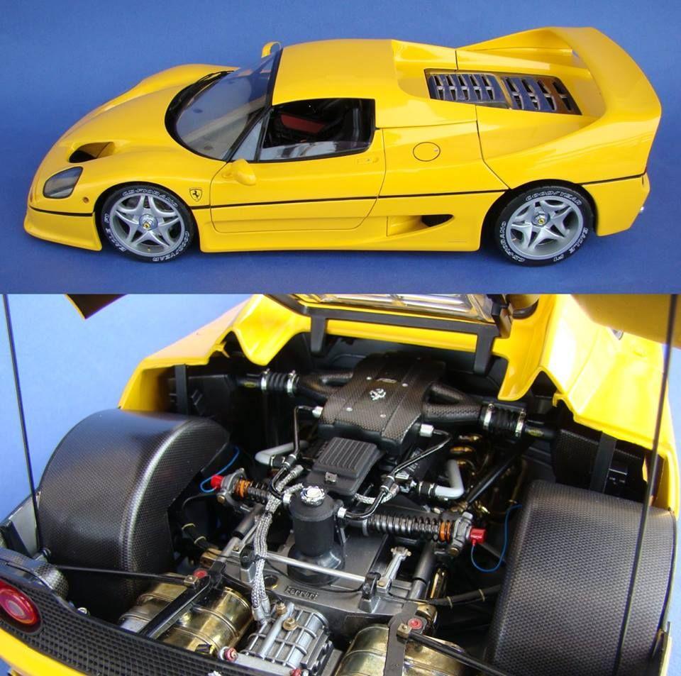 Improving The Ferrari F50 1 12 Scale Tamiya Http Www Modelersite Com