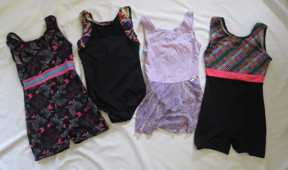 b06e96c25ea33 Girls Leotard Lot of 4 S 6 6x Unitard Danskin Now #fashion #clothing ...