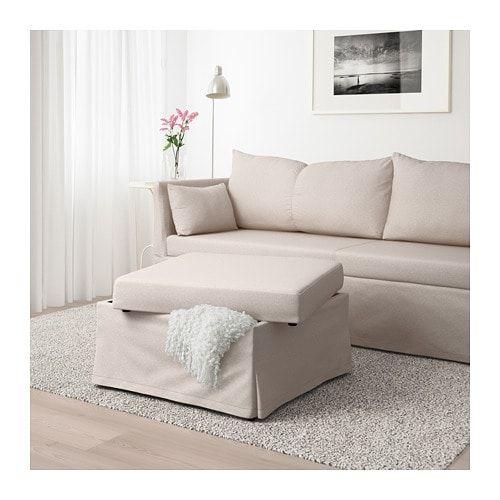 SANDBACKEN Sleeper sectional, 3-seat, Lofallet beige in 2018 Han\u0027s