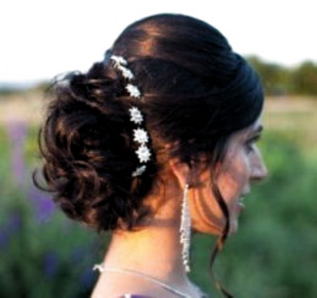 10 Hair Styles For Wedding Down Ideas