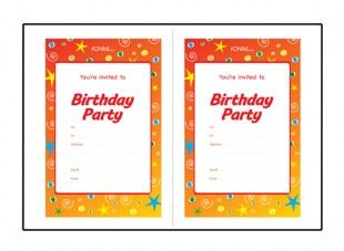party invitation templates uk
