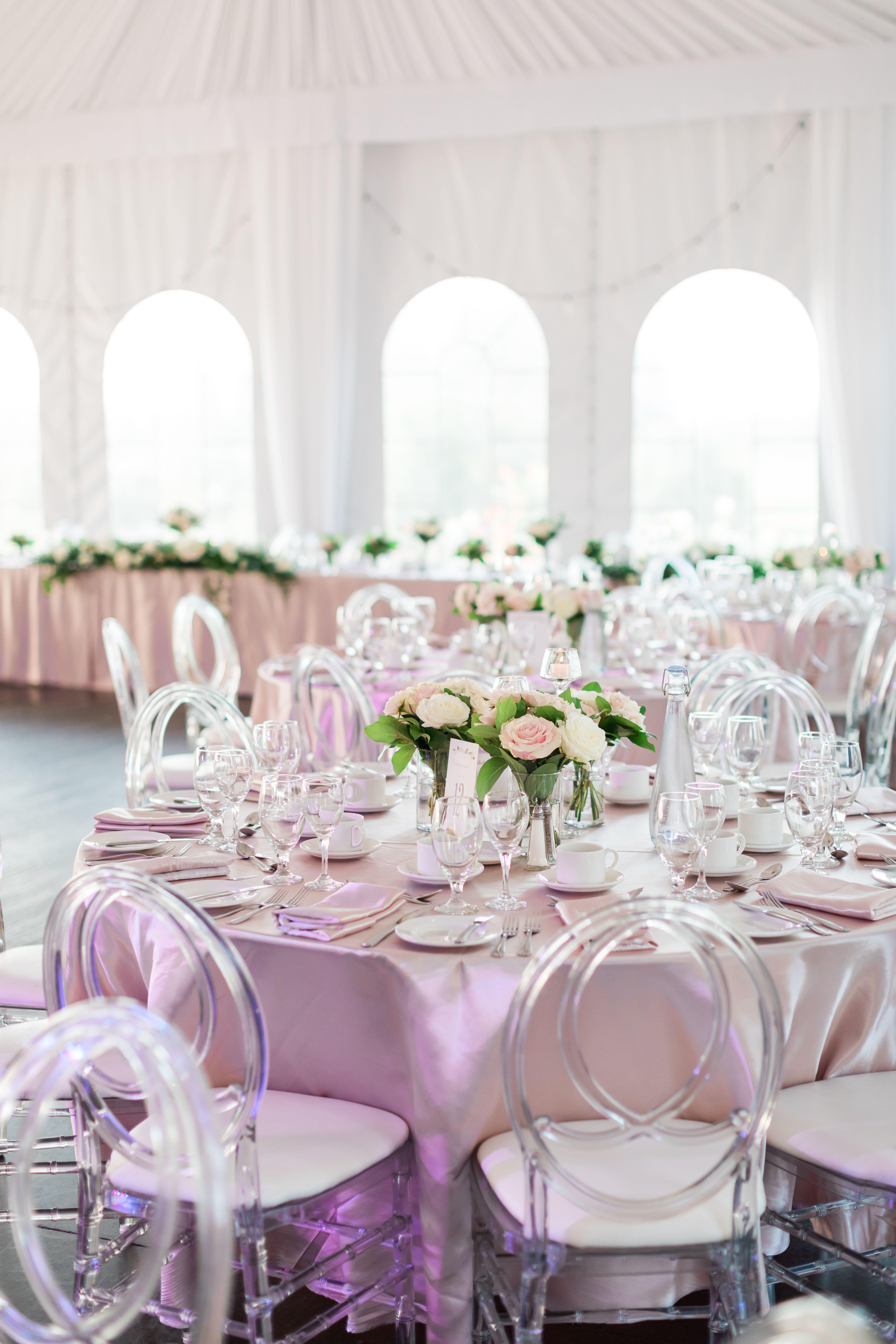 Weddings At Cardinal Golf Club Redcrest Wedding Table Settings