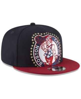new product 0a947 2ad01 New Era Boston Celtics Xl Americana 9FIFTY Snapback Cap - Blue Adjustable