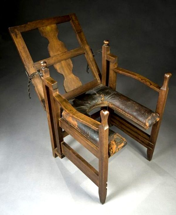 Antique birthing chair (1800s). Not much different from labor beds - 8.) Antique Birthing Chair (1800s). Not Much Different From Labor