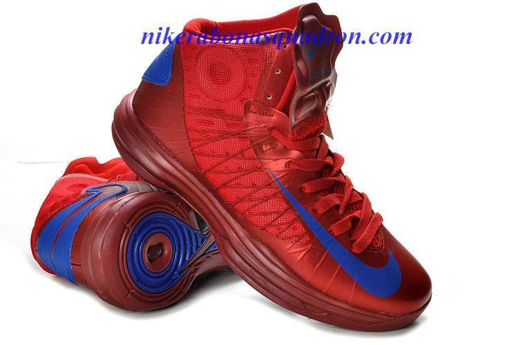 b63bd615d7a0 Nike Lunar Hyperdunk X Puerto Rico Olympic Away University Red Royal Blue  535359 600