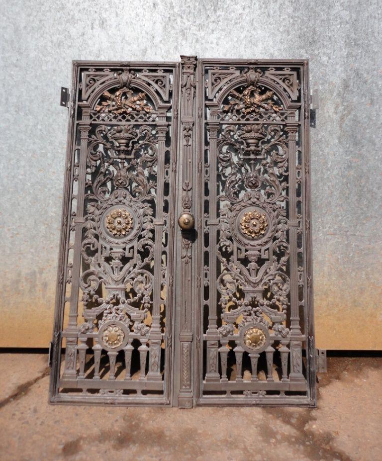 Decorative Metal Panels Restoration Of Decorative Cast Iron Door Panels Wooden Doors Traditional Front Doors Front Door Design