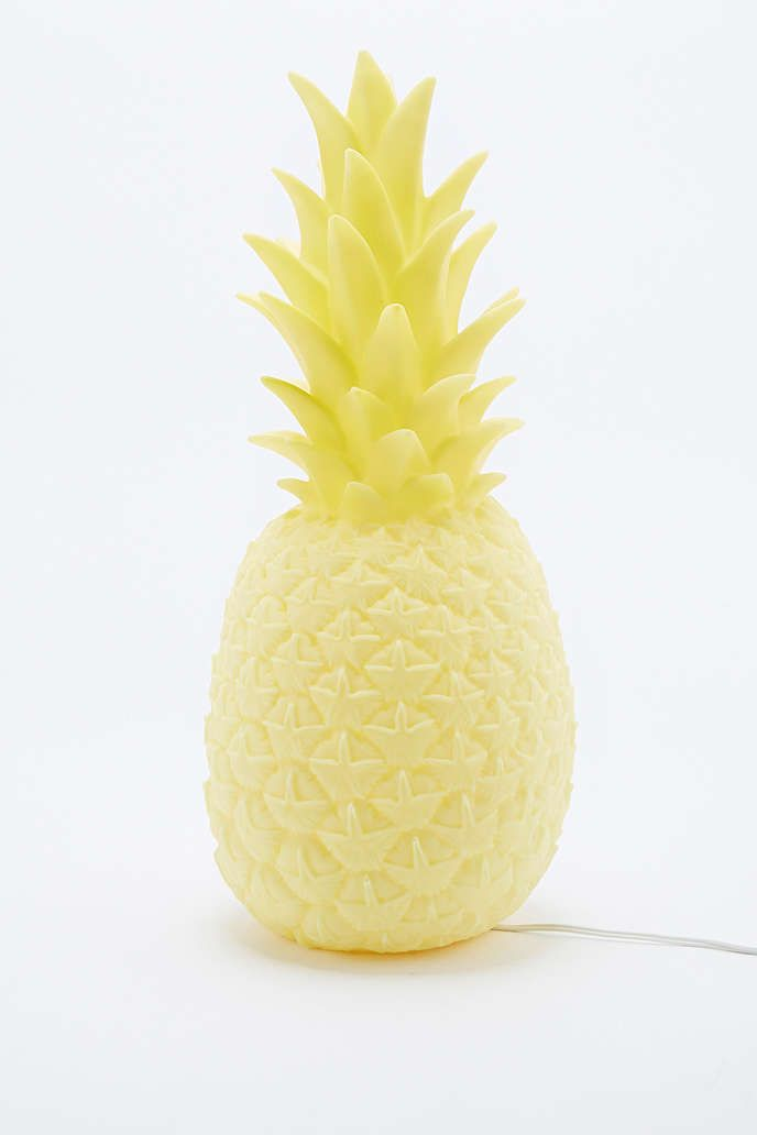 Goodnight Light Pineapple Lamp UK Plug in Yellow - Urban Outfitters
