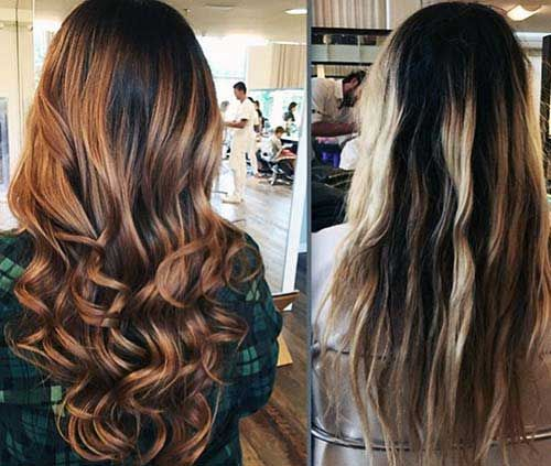 Ombre Hair Chocolate Passo A Passo