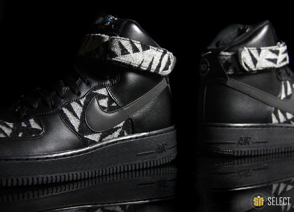 official photos 986ed 5a032 sn select nike air force 1 high n7 3 SELECT Preview  Pendleton x Nike N7  Air Force 1 High