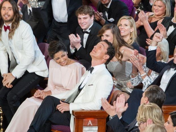 Matthew Mcconaughey When He Heard He Won The Oscar For