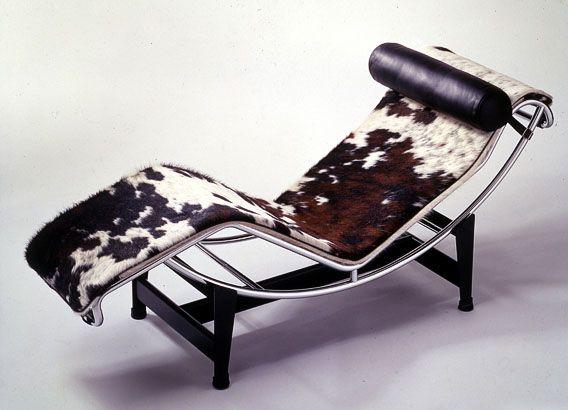 LC4 - Chaise longue à bascule peau de vache - Le Corbusier - 1928 Hda Chaise Longue Le Corbusier on