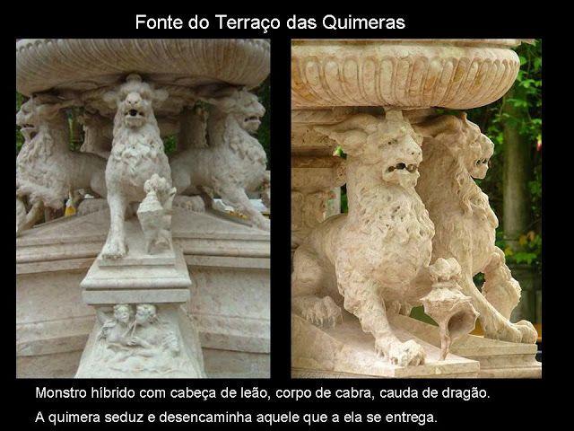 Viagem pela Arte II: Quinta da Regaleira – Um Mundo Fantástico - Fonte do Terraço das Quimeras.