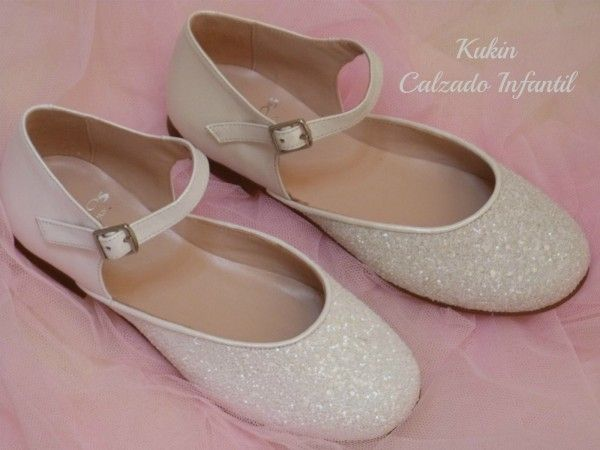 zapatos infantil calzado Zapatos ceremonia comunión Landos niña ZnUCEw