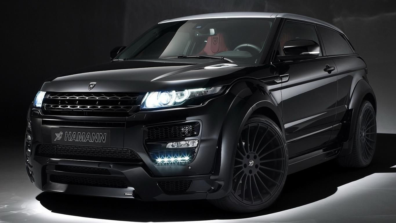 hamann land rover range rover evoque coupe black. Black Bedroom Furniture Sets. Home Design Ideas