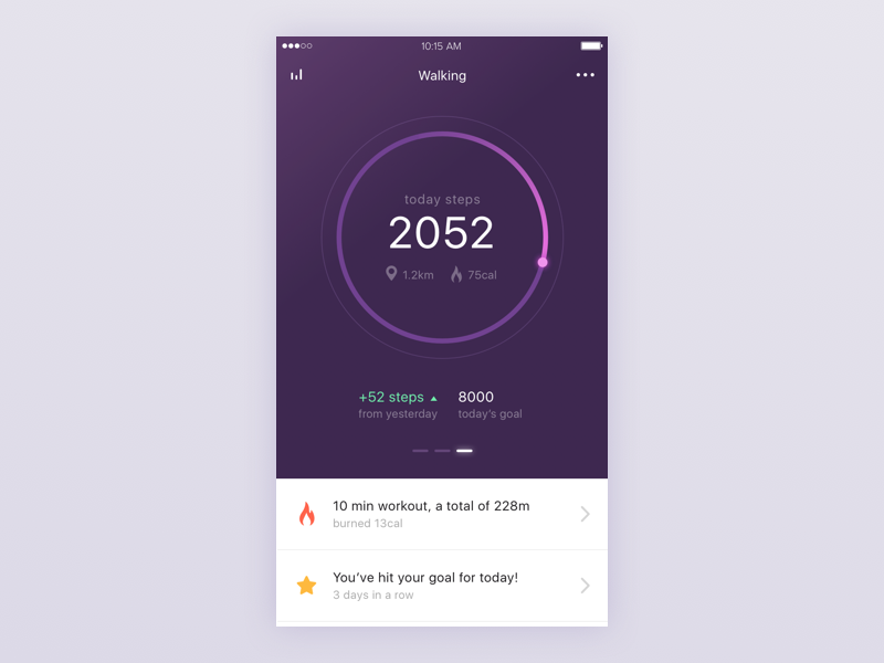 Health/Fitness app