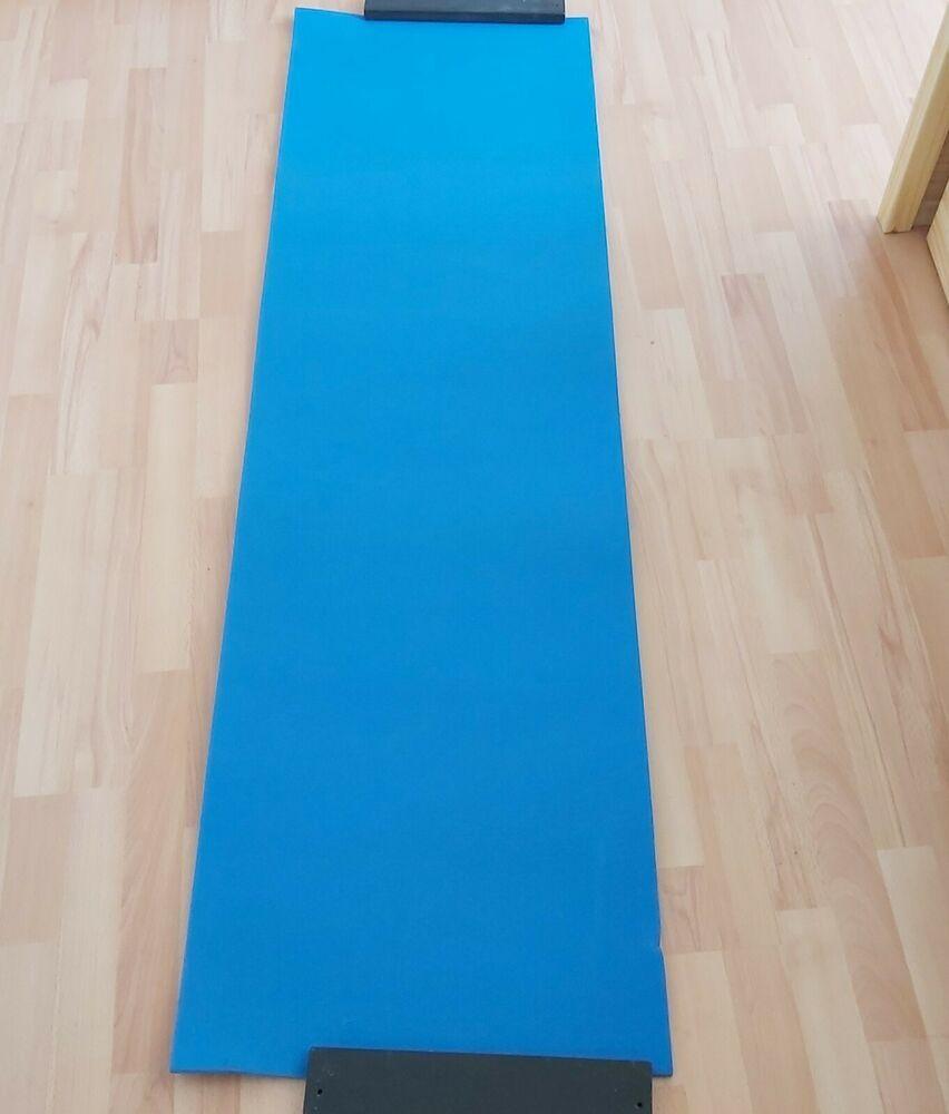 Gymnastikmatte 180x50 Cm Blau 1a In 2020 Zu Verkaufen Blau