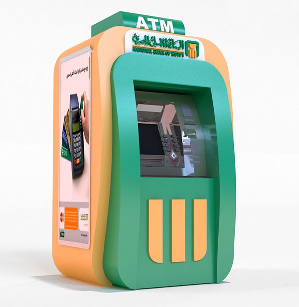 Indoor Atm Machine Design on Behance