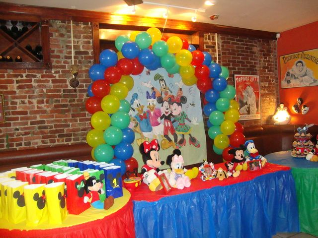 Balloon Arch Mickey Mouse Clubhouse Birthday Party Mickey Mouse Clubhouse Party Mickey Mouse Clubhouse Birthday