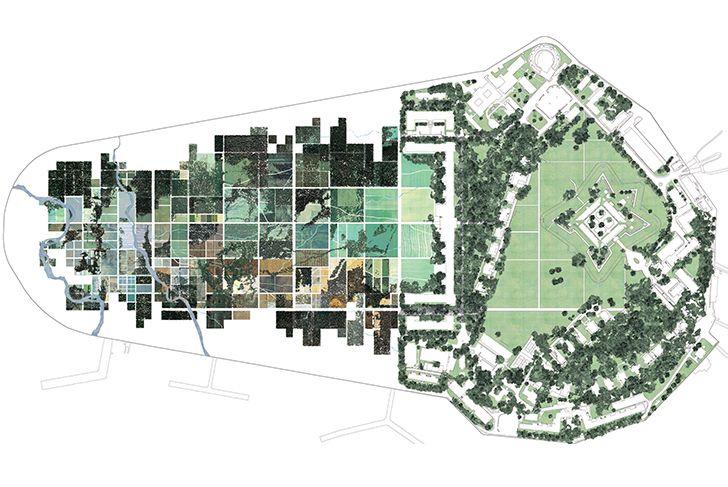 Summer Park Governors Island Mdp Landscape And Urbanism Campus Landscape Park Landscape