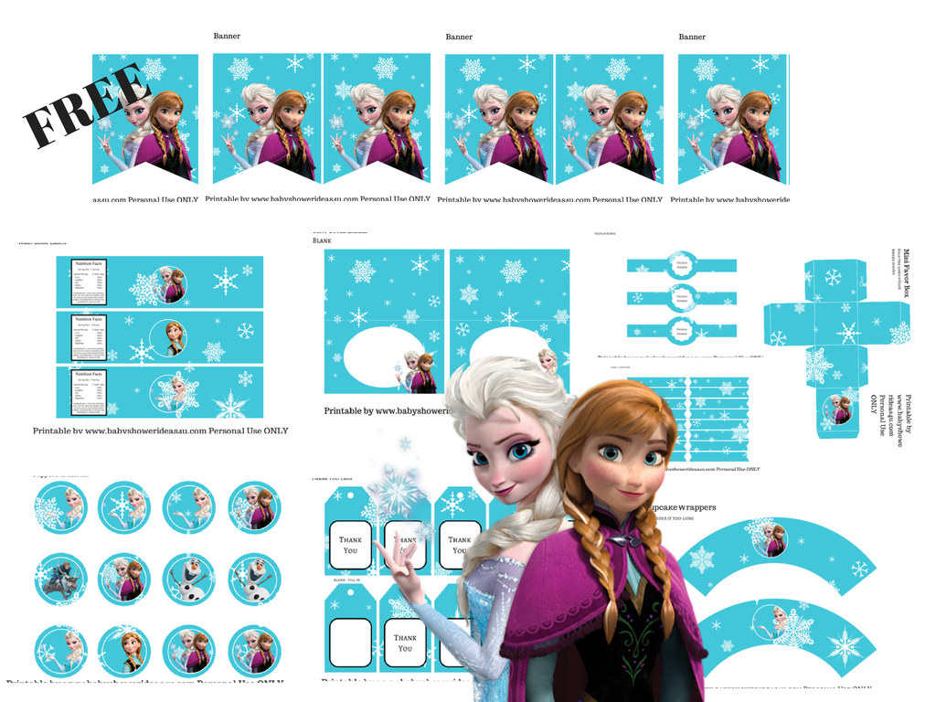 Frozen Pretty Party Ideas  Disney s Frozen party and Free
