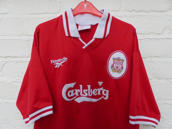 new styles 8beff 21ea7 LFC Reebok Home Shirt by LFCcollectables on Etsy | Liverpool ...