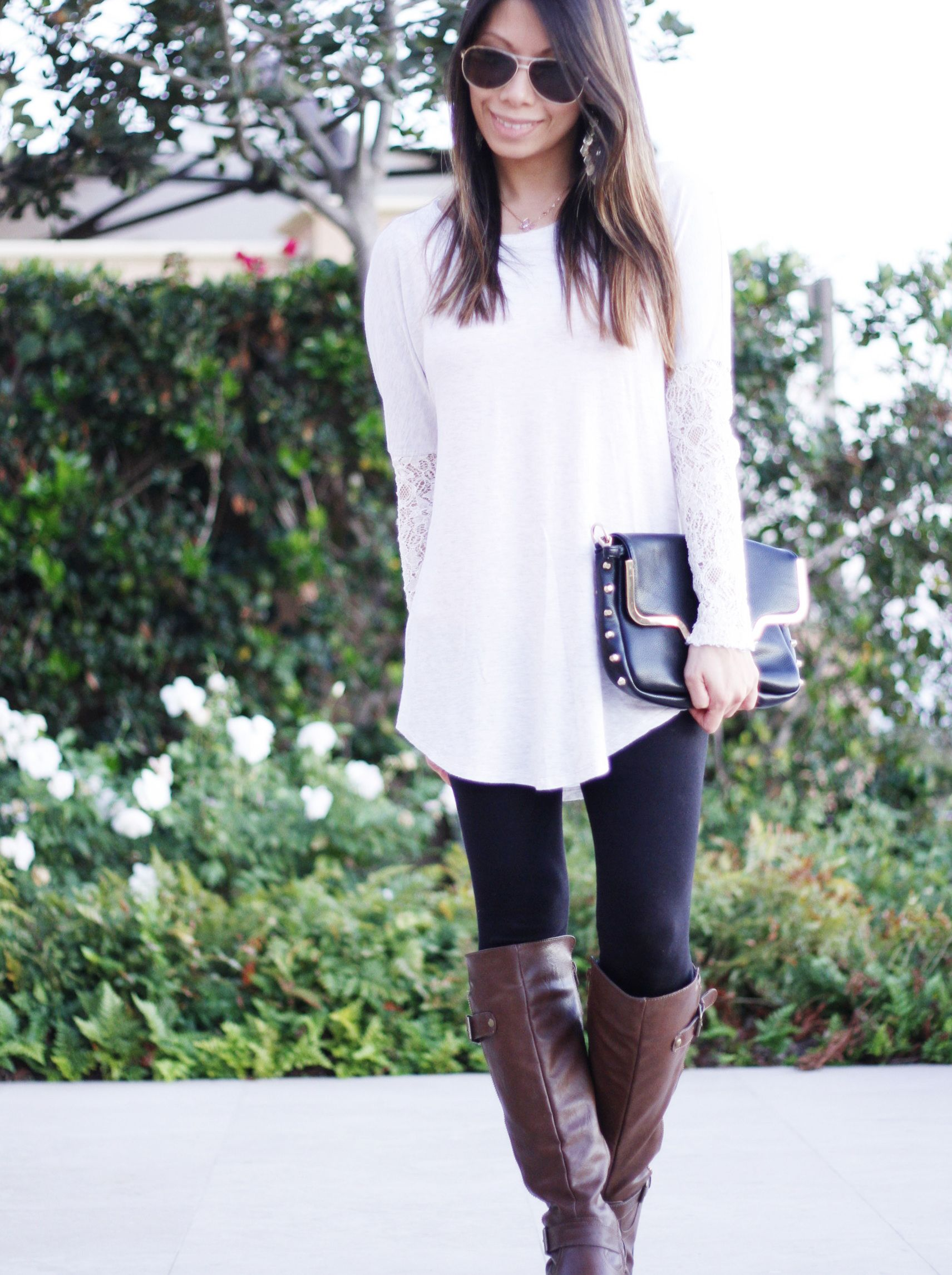 Black and white loose fitting tops forever and lifestyle blog