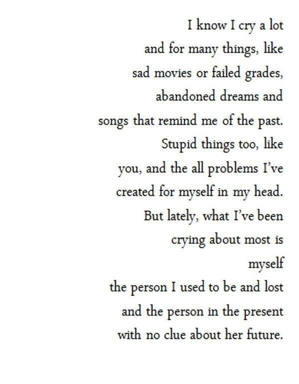 Depression The Real Life Pinterest Quotes Words En Sad Quotes