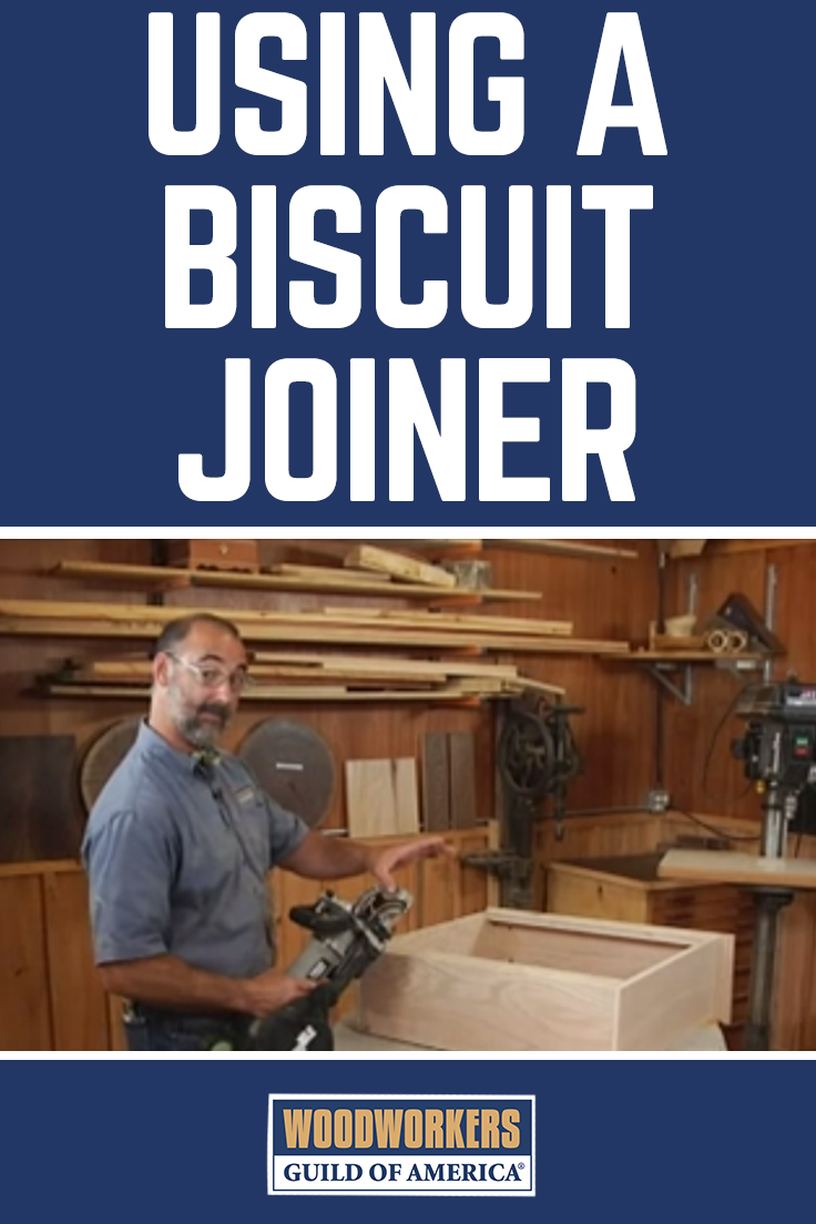 George Vondriska Teaches You How To Use The Biscuit Joiner Attach A Shelf