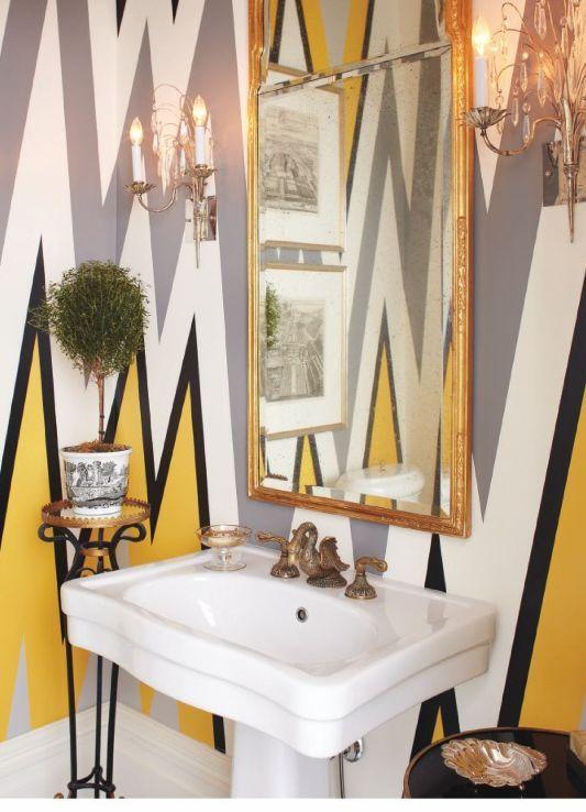 Decorar baños pequeños con mucho estilo Powder room, Walls and - Ideas Con Mucho Estilo
