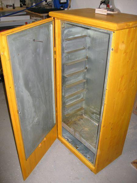 Schrank für Räucherofen Bauanleitung zum Selberbauen 1