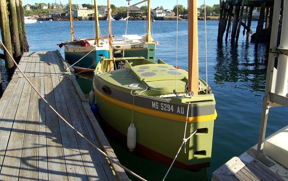 the bolger micro | Sailing | Wooden boat plans, Flat ...