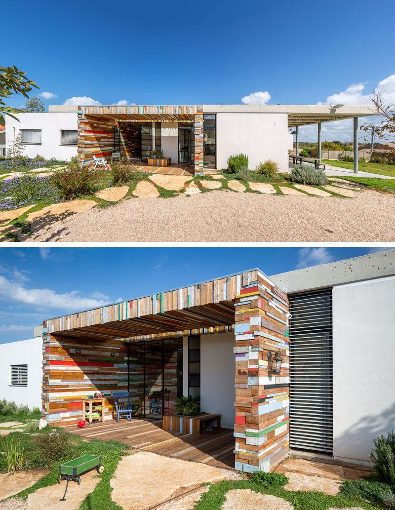 Ziegelhaus design außen this home in hofit israel designed by brahmaarchitects features
