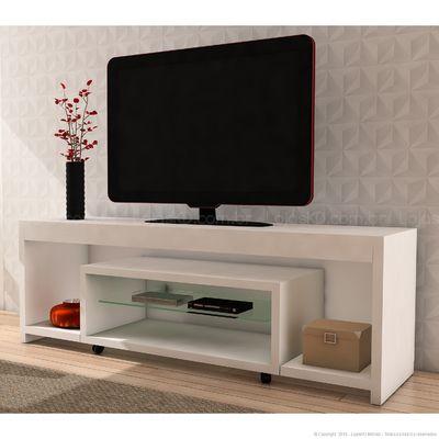 Rack/Bancada para TV até 60 Polegadas Lúmina Branco Made
