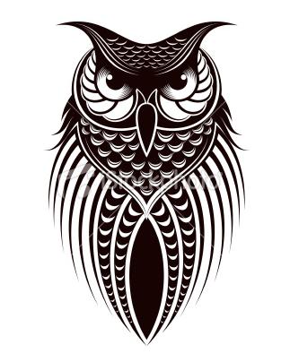 BAYKUŞ | BAYKUŞLAR | Art hibou, Hibou dessin ve Hibou tattoo - photo#42