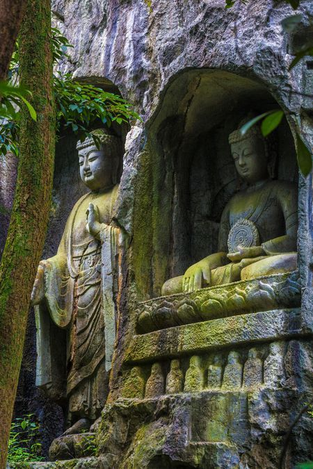 Lingyin Monastery Photo by Jerry Wang — National Geographic Your Shot