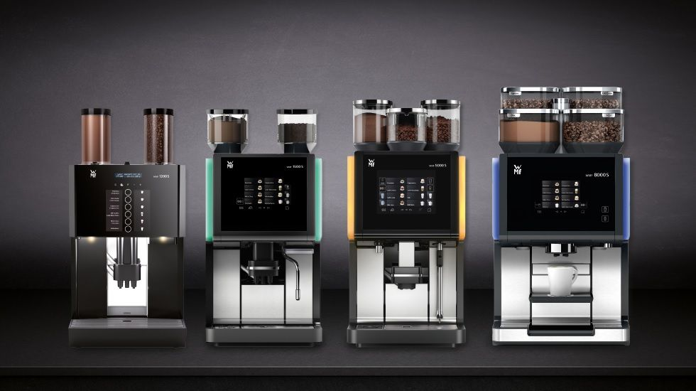 Coffee To Cup Machines Part - 36: WMF Bean To Cup Coffee Machine Range
