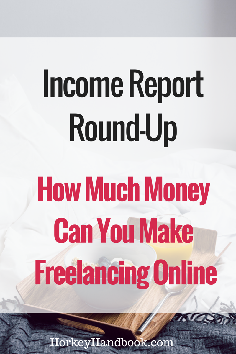 Income Report Round-up: How These Freelancers Make Money Online ...