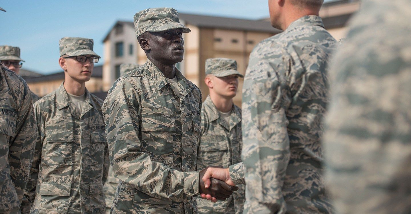 Air Force Graduation at Lackland AFB (2019 Schedule)   Air