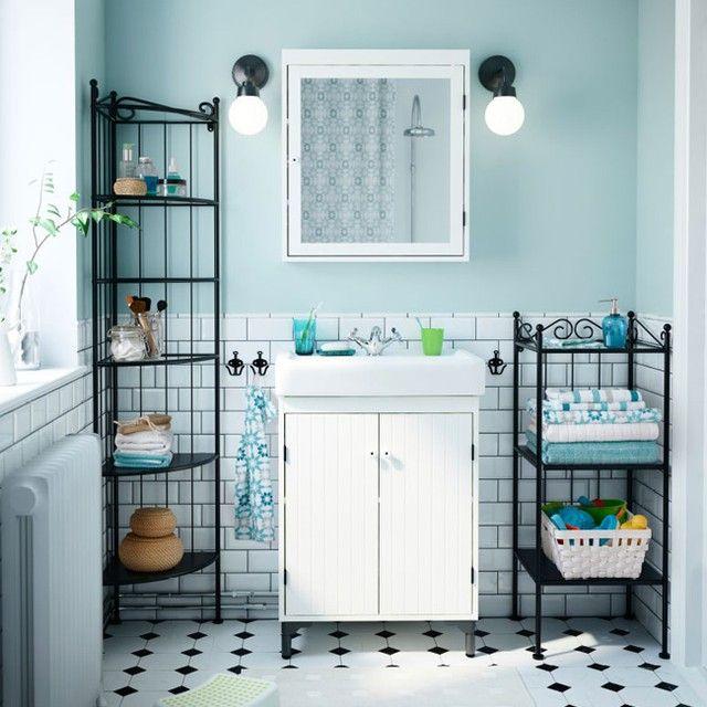 ikea #badkamer #inspiratie | Interieur inspiratie | Pinterest
