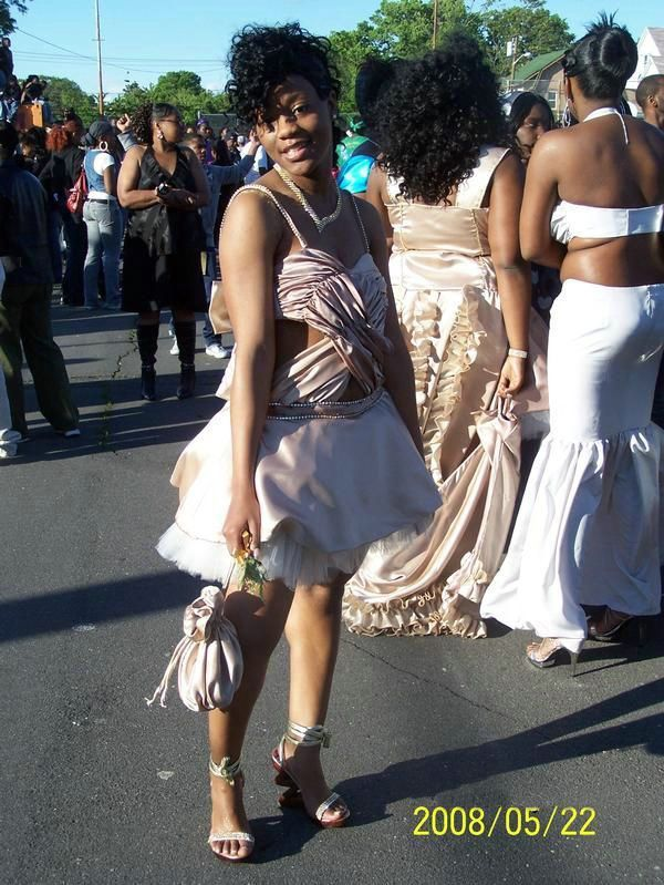 Posing Ghetto Prom Dress Summer Outfits Dresses