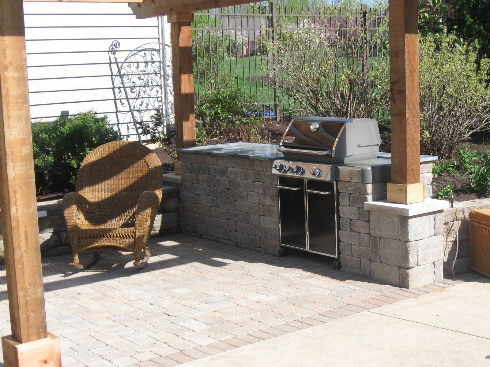 weber outdoor kitchen inspiration and design ideas for dream house weber outdoor kitchen on outdoor kitchen natural id=62295