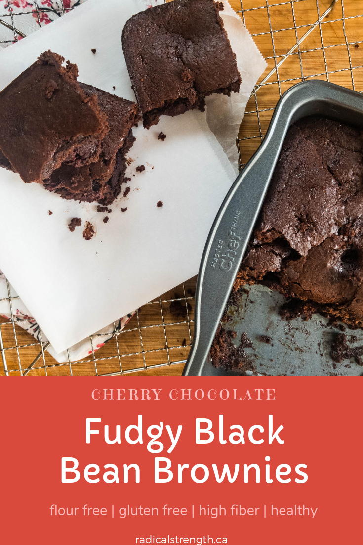 Fudgy Black Bean Brownies You'll never believe these rich fudgy brownies are made with black beans! They are so good and taste like the