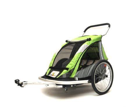 kidarooz 535 2 in 1 2 child bike trailer stroller 00113201 by rh pinterest com
