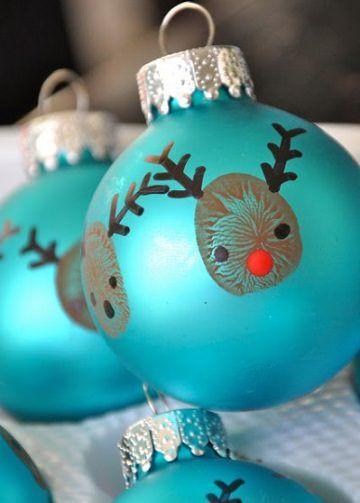 5 Adornos de navidad fáciles para hacer con los niños | HandMade ...