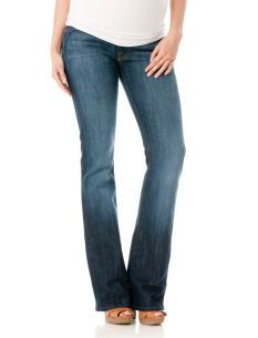a37df464ea458 7 For All Mankind Secret Fit Belly  5 Pocket Boot Cut Maternity Jeans