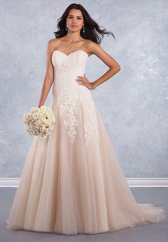 Alfred Angelo Signature Bridal Collection 3010 A-Line Wedding Dress ...