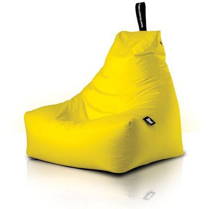 Astounding Yellow Coloured Original Mighty B Beanbag Crazy Chair Just Dailytribune Chair Design For Home Dailytribuneorg