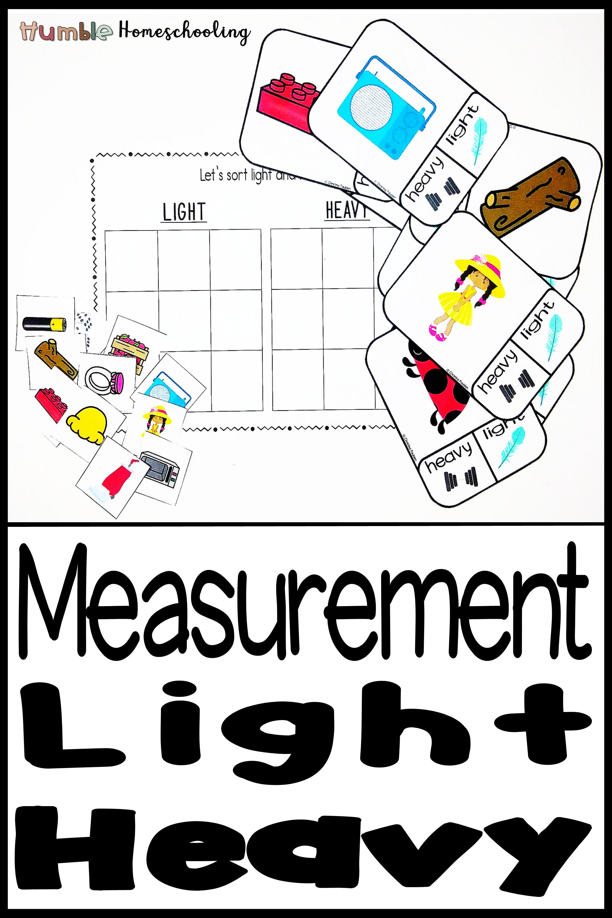 Light Or Heavy Activities Bundle